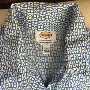 Talbots button down shirt, NWT